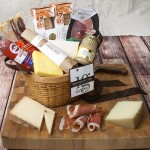Meat and Cheese Gift Basket for Connoisseurs