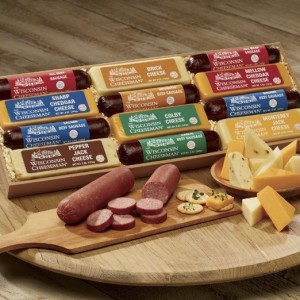 sausage and cheese gift lineup