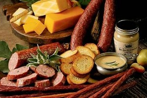 smokehouse cheese and sausage