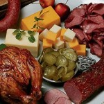 Celebration Box with Smoked Cheese and Meats