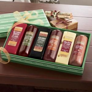 sausage cheese gift box